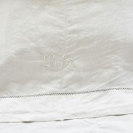 Vintage Linen Sheet