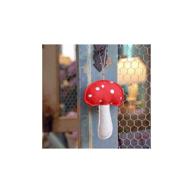 Traditional Felt Mushroom