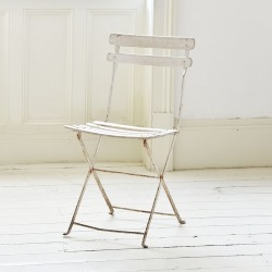 Vintage French Café Chairs