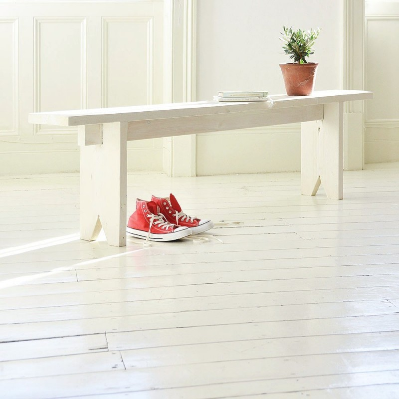 Rustic Spruce Benches