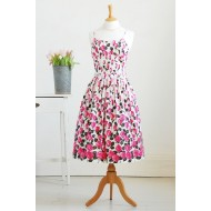 Vintage 1950s Cotton Dress