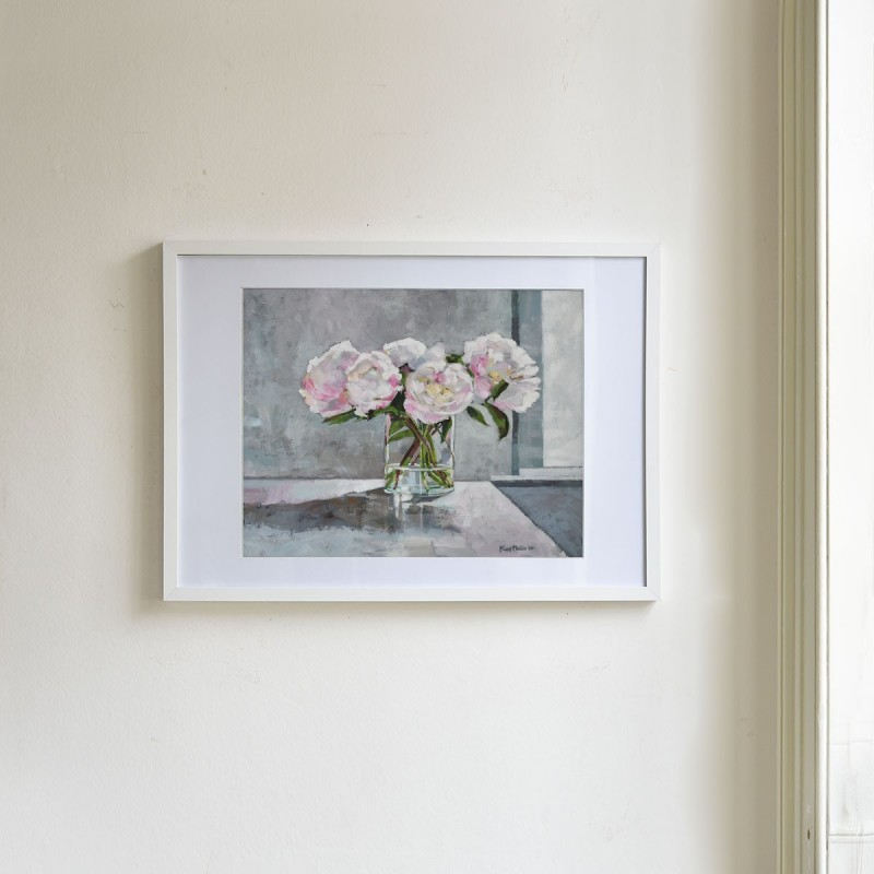 """Signed Limited Edition Print, """"Peonies"""""""