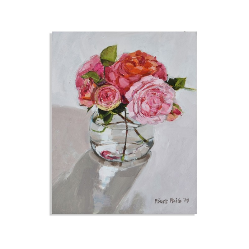 Roses In A Jar, card
