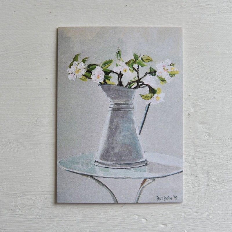 Apple Blossom, card
