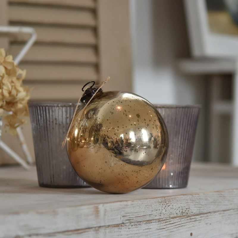 Large Gold Bauble