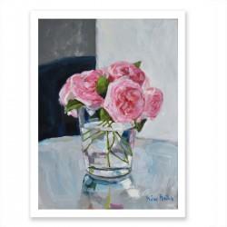 Fine Art Print, Pink Roses