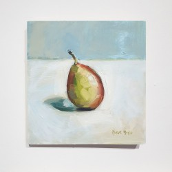 Small Oil On Board, Pear