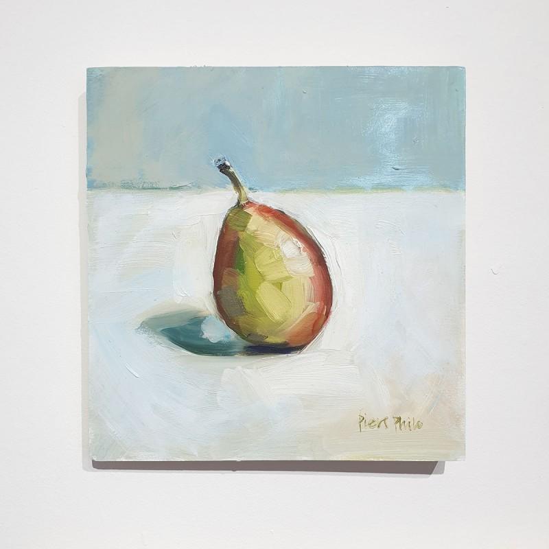 Small Oil On Board, Pear