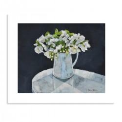 Giclée Print, White Blossom