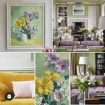 I would love a room scheme designed around this painting we've just added to the website… * * * #decorativeantiques #originalart #interiordesign #interiorstyling #vintagestyle #moderncountrystyle #countryliving #floralart