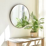 I love a round mirror. This one has such a contemporary feel, but is probably 1920s/30s and so beautifully made; bevelled glass, solid wood frame and backing... It's in the website now.  * * * * #interiordesign #interiorstyling #moderncountry #countryliving #circularmirror #interiors #vintagestyle #vintageinspo #decorativeantiques #decorativeliving #countrybrocante
